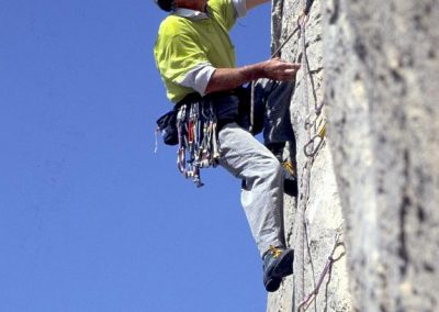 1st Ascent Angel City. 6b. Edwards Rowland.Pleasure Domes