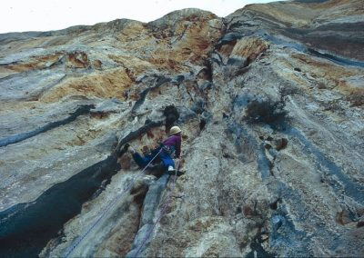 Deidro Edwards . 8a+ La Capella. Rowland